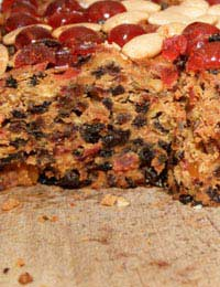 Christmas Food Cake Gluten-free Baking